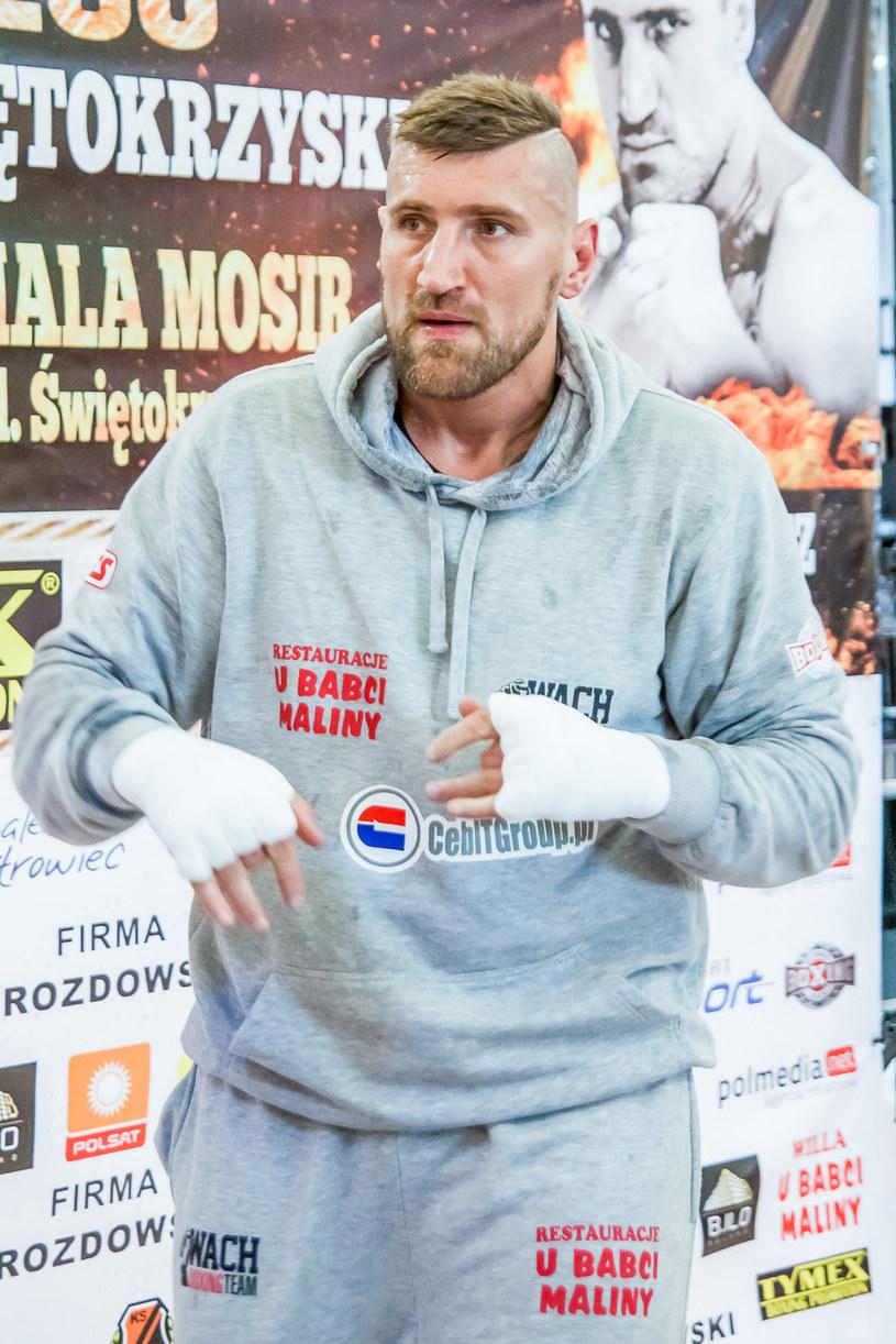 Mariusz Wach /fot. Grzegorz Skiba /Newspix