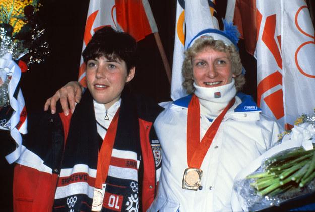 Marja-Lissa Hamalainen (z prawej) została gwiazdą igrzysk /AFP