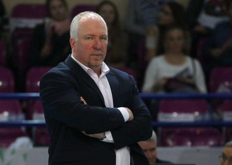 Mark Lebedew, trener Jastrzębskiego Węgla /Marek Zieliński /East News