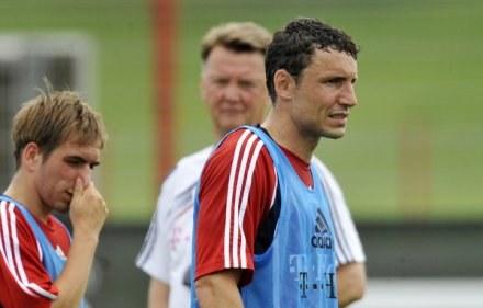 Mark Van Bommel nie ma ostatnio szczęścia do futbolu. /AFP