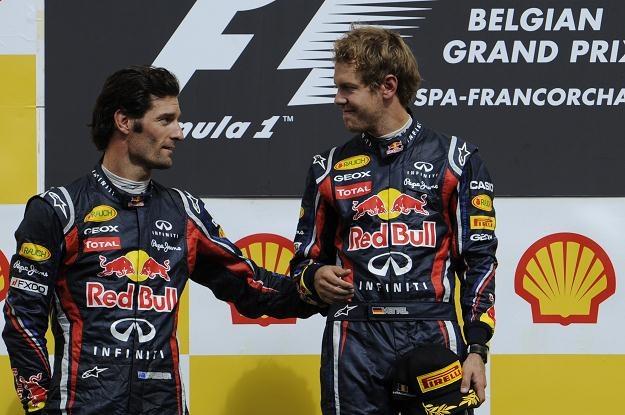 Mark Webber chciałby w barwach Red Bulla zdobyć mistrzostwo świata, podobnie jak Sebastian Vettel /AFP
