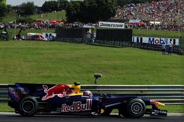 Mark Webber wygrał na Węgrzech /