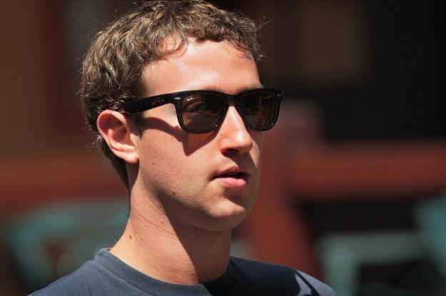 Mark Zuckerberg - główny twórca Facebooka /AFP