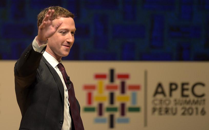 Mark Zuckerberg /AFP