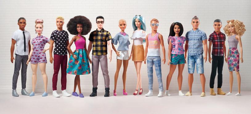 Marka Barbie zawsze podążała z duchem czasu, więc unowocześnienie Kena stanowi kolejny krok w ewolucji brandu /materiały prasowe