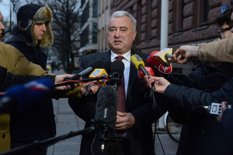Markijan Malski - ambasador Ukrainy w Polsce/fot. Jakub Kamiński /PAP/EPA