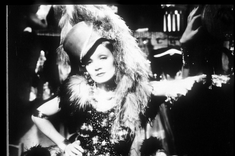 Marlena Dietrich jako Niebieski anioł /East News