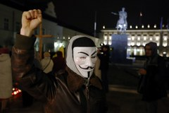Marsz Miliona Masek w Warszawie
