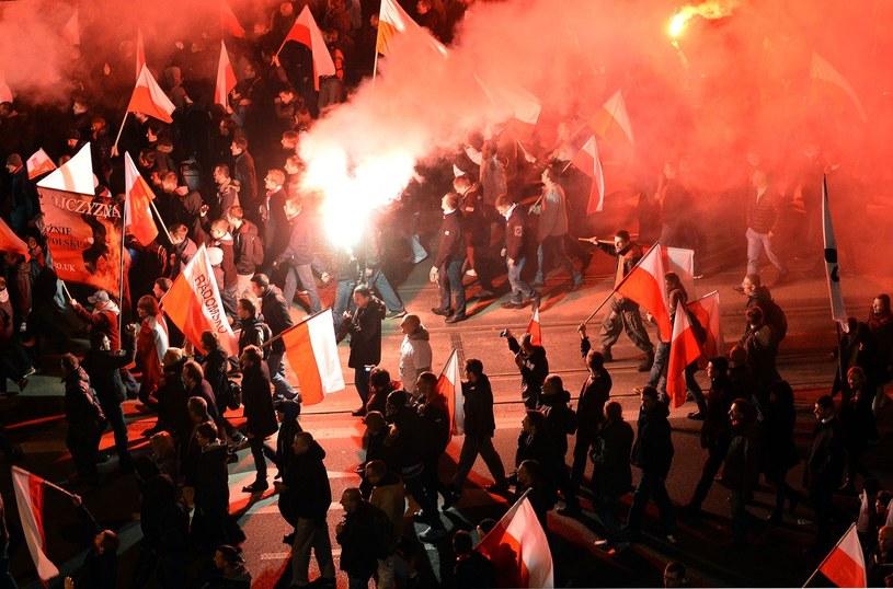 Marsz Niepodległości /AFP