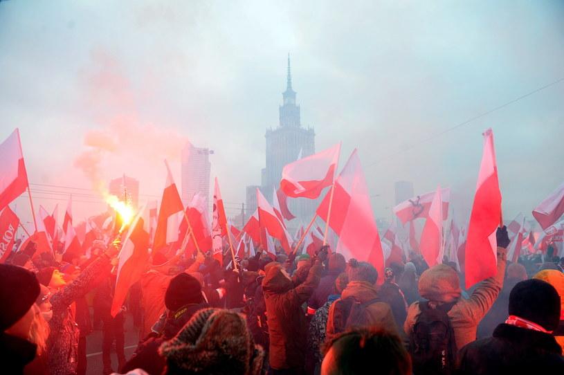 """""""Marsz Niepodległości"""" /Marcin Obara /PAP"""