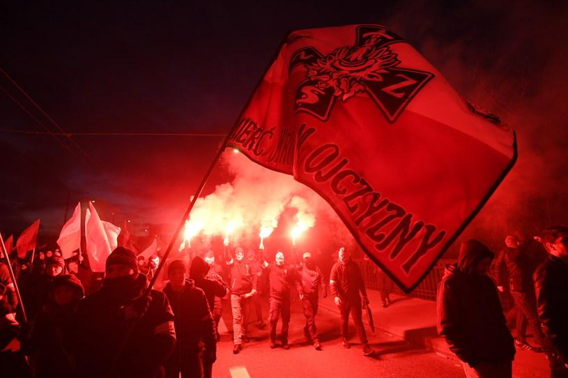 Marsz Niepodległości /Bartłomiej Zborowski /PAP