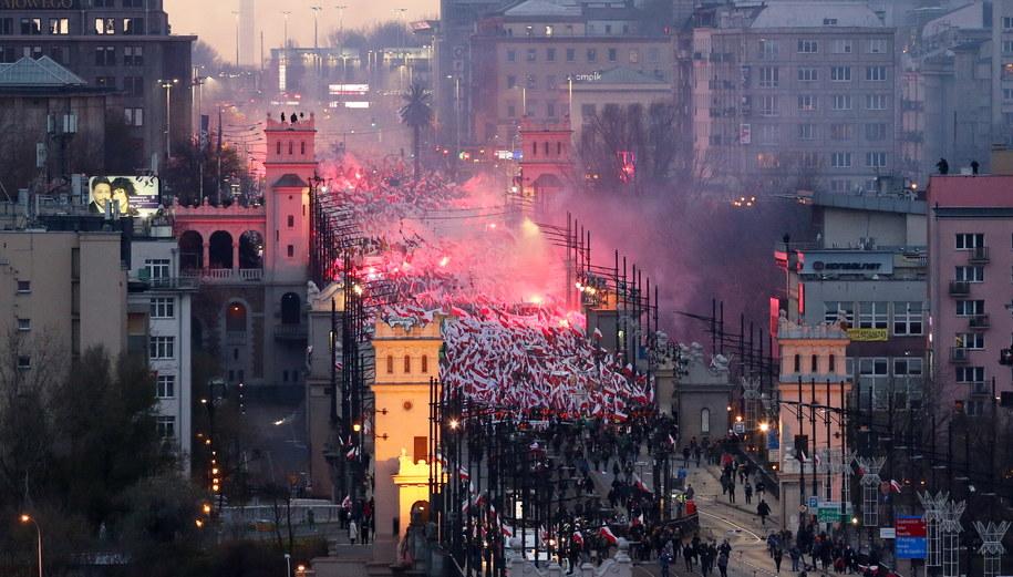 Marsz Niepodleglości /PAP