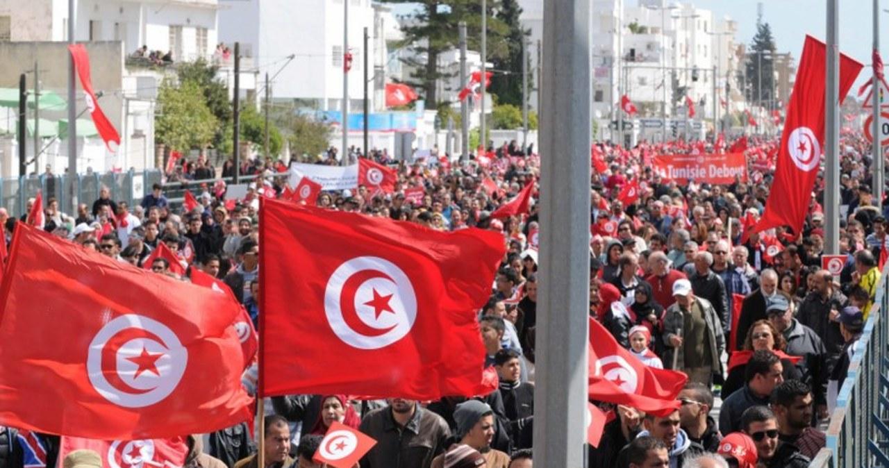 Marsz przeciwko terroryzmowi w Tunisie