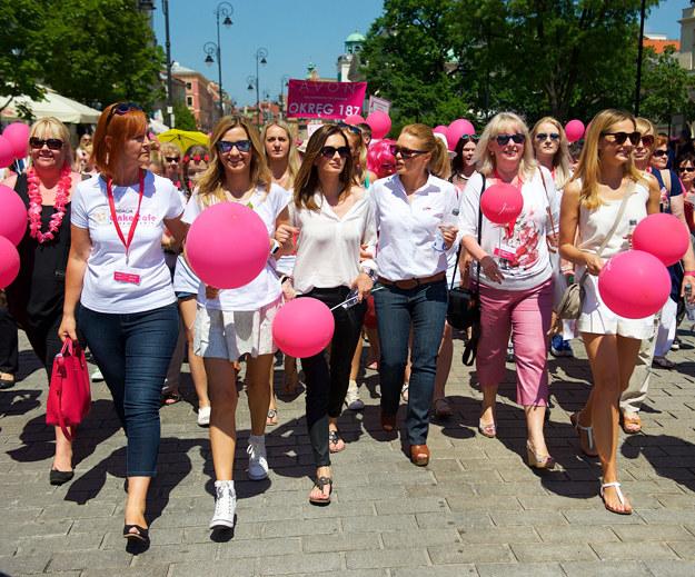 Marsz Różowej Wstążki /materiały prasowe