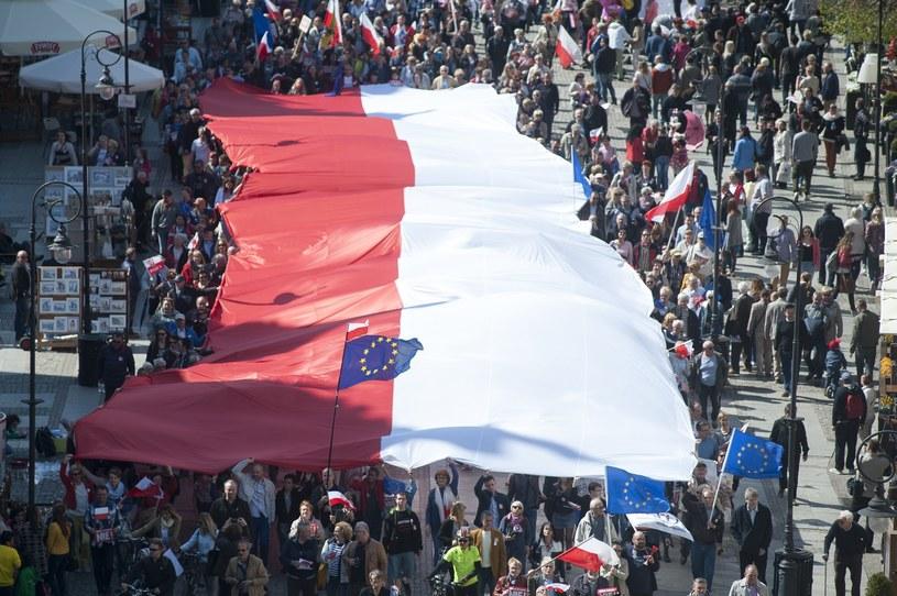 Marsz w Gdańsku /Wojciech Stróżyk /Reporter