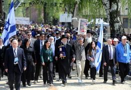 Marsz Żywych przeszedł przez Auschwitz