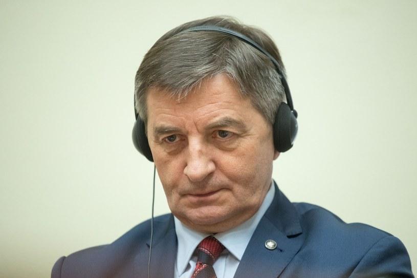 Marszałek Marek Kuchciński /Pawel Wisniewski /East News