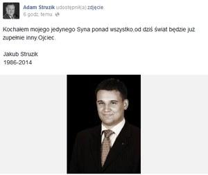 """Marszałek Mazowsza zawiesił kampanię. """"Straciłem syna"""""""