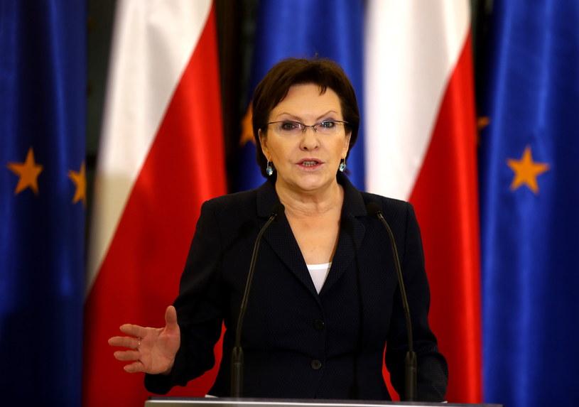 Marszałek Sejmu Ewa Kopacz/fot. Tomasz Gzell /PAP