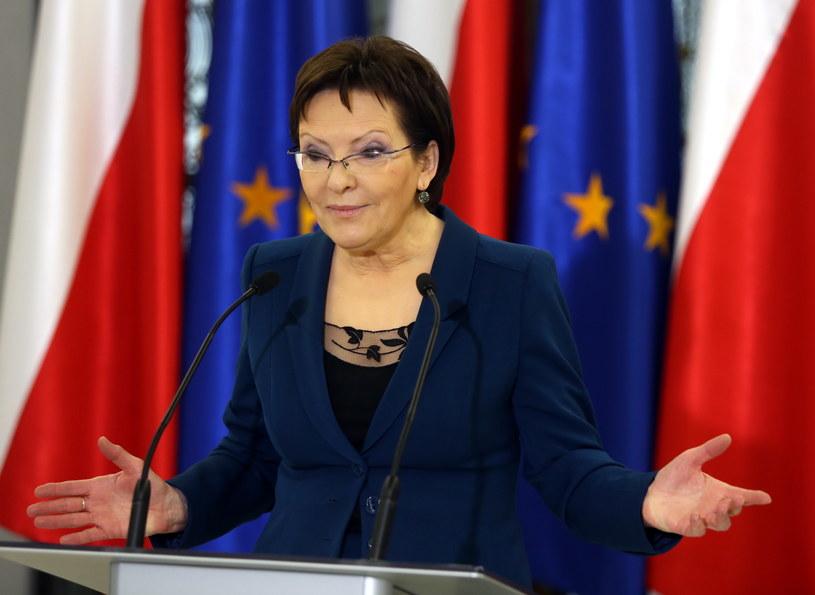 Marszałek Sejmu Ewa Kopacz /Tomasz Gzell /PAP