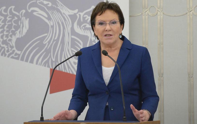 Marszałek Sejmu Ewa Kopacz. /Radek Pietruszka /PAP