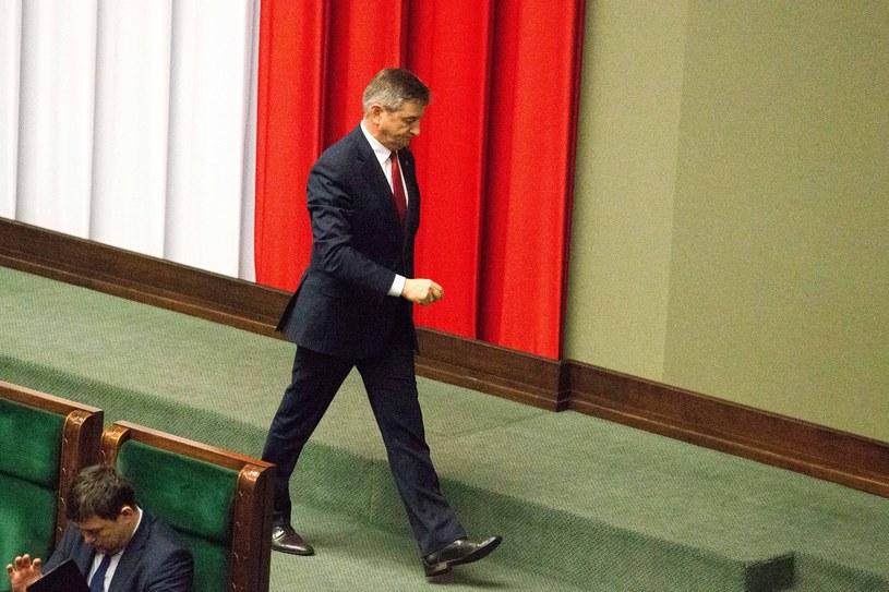 Marszałek Sejmu Marek Kuchciński /Adam Zwart /East News