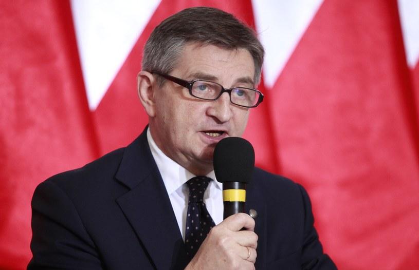 Marszałek Sejmu Marek Kuchciński /Stefan Maszewski /Reporter