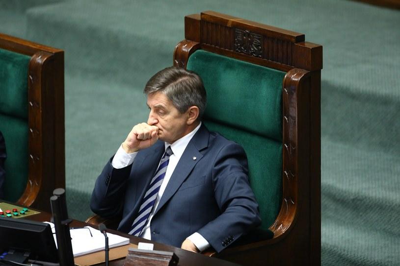 Marszałek Sejmu Marek Kuchciński /STANISLAW KOWALCZUK /East News