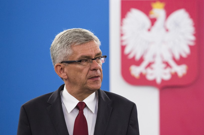 Marszałek Senatu Stanisław Karczewski /Andrzej Hulimka  /East News