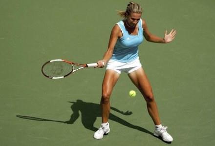 Marta Domachowska awansowała do II rundy w stolicy Tajlandii /AFP