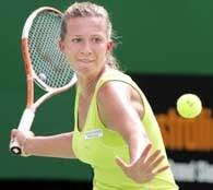 Marta Domachowska miała uczucie niedosytu po meczu z Silvią Fariną-Elią /AFP