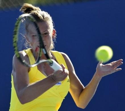 Marta Domachowska nie sprostała Rumunce /AFP