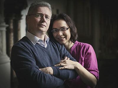 Marta i Marek Babikowie /źródło: strefarodziny.eu /