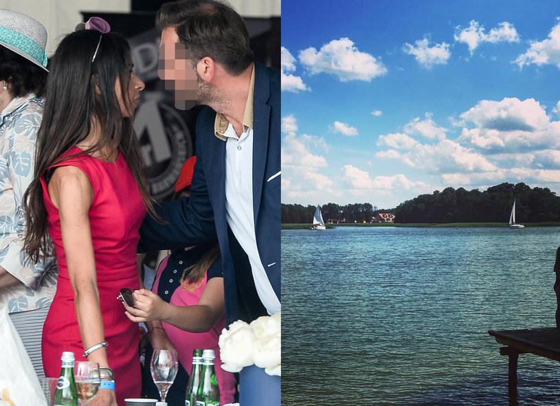 Marta Kaczyńska mogła zrelaksować się na Mazurach /Łukasz Dejnarowicz/Instagram @mmkaczynska /Agencja FORUM