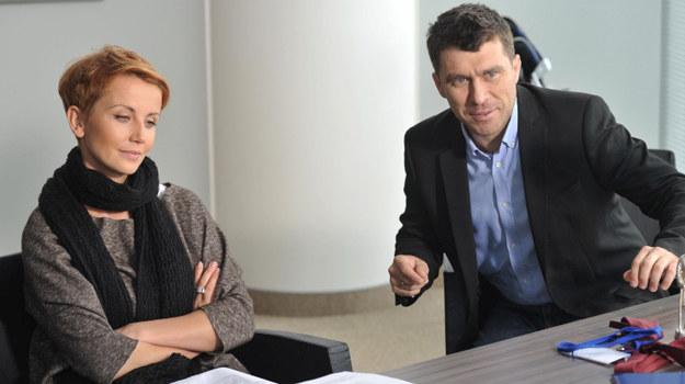 Marta (Katarzyna Zielińska) i Robert (Marcin Czarnik) /fot  /Agencja W. Impact