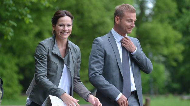 Marta Król i Krystian Wieczorek. Sonię i Andrzeja połączył przypadek, ale odkryli, że mają wiele wspólnego /Agencja W. Impact