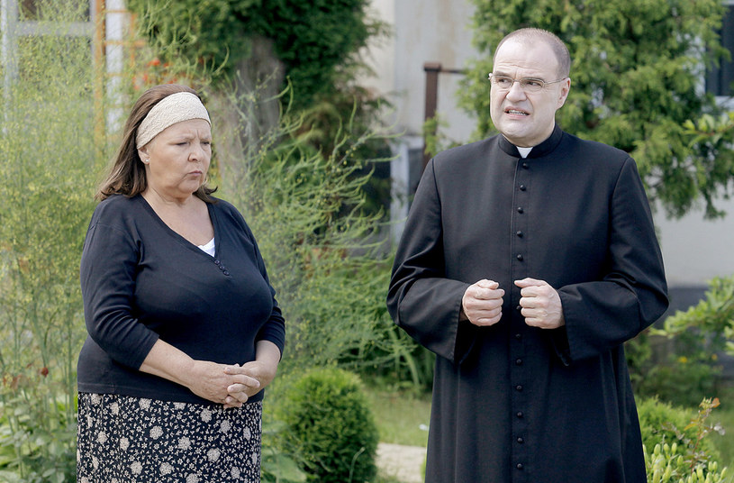 """Marta Lipińska jako Michałowa w serialu """"Ranczo"""" /Jordan Krzemiński /AKPA"""