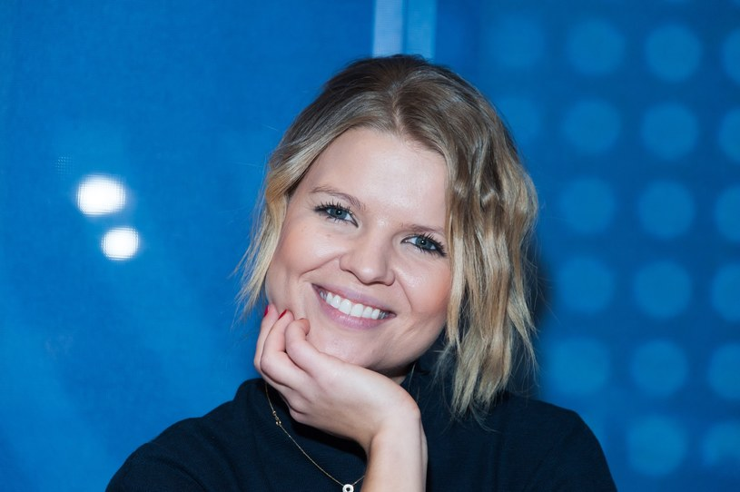 Marta Manowska - prowadząca program /East News