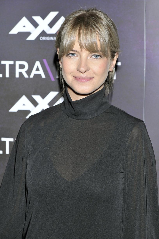 """Marta Nieradkiewicz na konferencji nowego serialu """"Ultraviolet"""" /AKPA"""