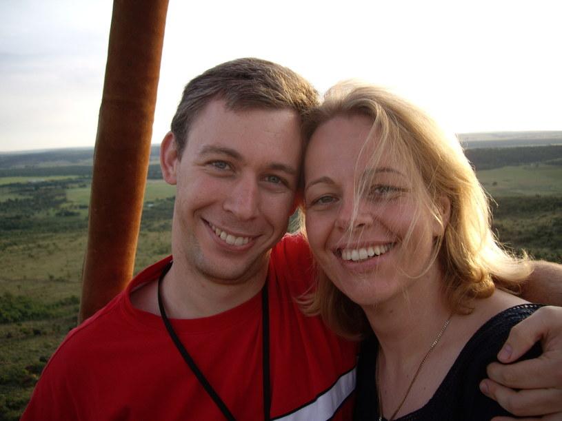 Martin i Joanna tuż po zaręczynach /materiały prasowe