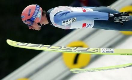 Martin Koch zwalił swój skok w pierwszej rundzie /AFP