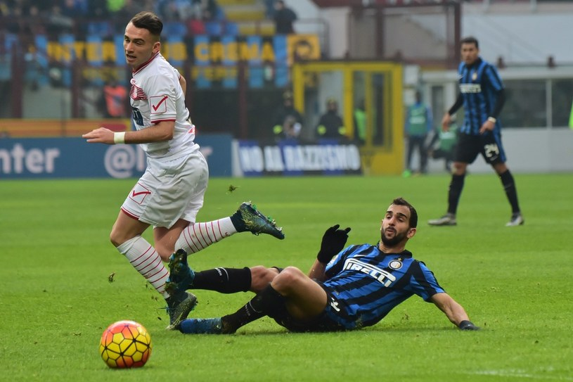 Martin Montoya w barwach Interu Mediolan /AFP