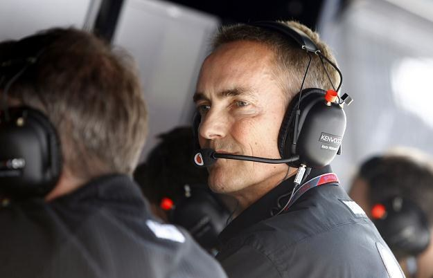 Martin Whitmarsh - szef teamu McLaren /AFP