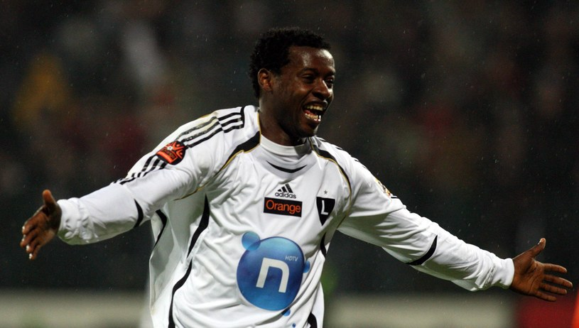 Martins Ekwueme grał m.in. w Legii Warszawa /Fot. Kuba Atys /