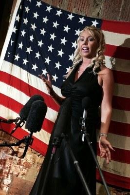 Mary Carey - tutaj jeszcze jako blondynka /AFP