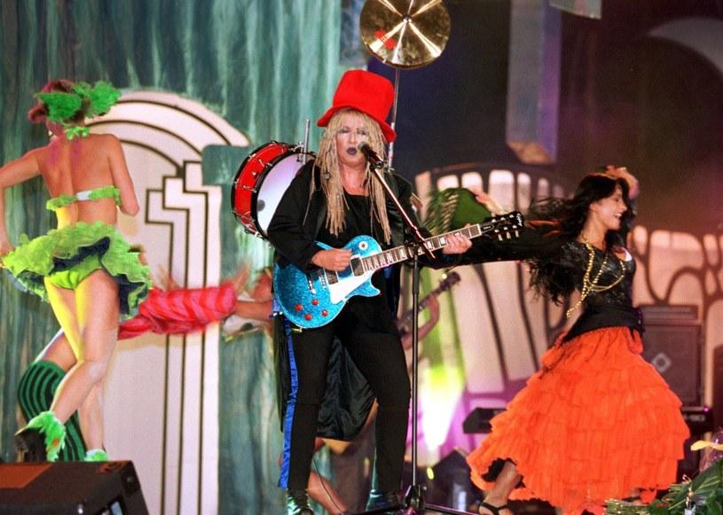 """Maryla Rodowicz w dalszym ciągu uwielbia śpiewać """"Kolorowe jarmarki"""" /Jacek Dominski/REPORTER /East News"""