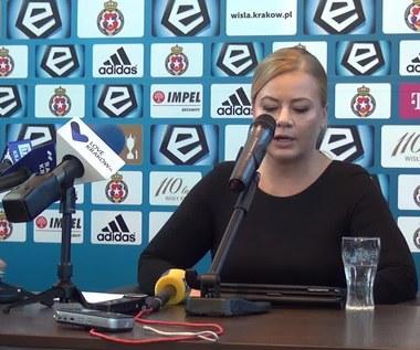 Marzena Sarapata nowym prezesem Wisły Kraków. Wideo