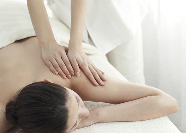 masaż /materiały promocyjne