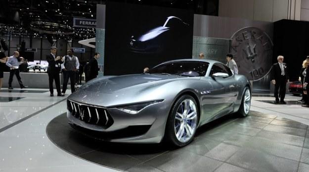 Maserati pokazało w Genewie zapowiedź nowego auta sportowego - Alfieri. /Newspress