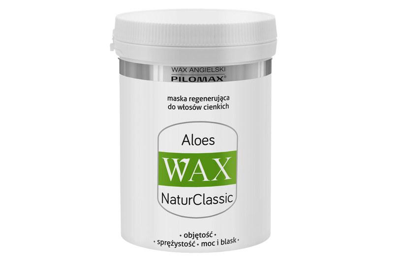 Maska Aloes WAX  NaturClassic /materiały prasowe
